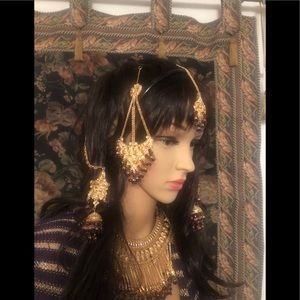 Vintage Pakistani Indian bridal jewelry
